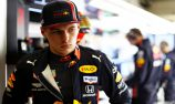 Verstappen caught out by wind in practice crash