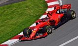 Leclerc sets fastest lap as Hamilton crashes in Canada