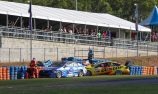 McLaughlin on provisional pole as BJR cars clout wall