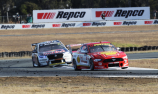 McLaughlin holds on to beat van Gisbergen in Race 20 at QR