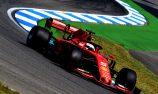 Gasly shunts as Ferrari tops German GP practice