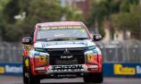 Crick on top in red flagged SuperUtes Practice 2