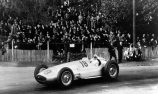 Hermann Lang behind the wheel of the Mercedes-Benz W 154 at the 1939 Pau GP
