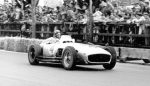 Juan Manuel Fangio driving the W 196 R at the 1954 Swiss GP