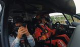 VIDEO: DTM leader navigates for World Rally Champion