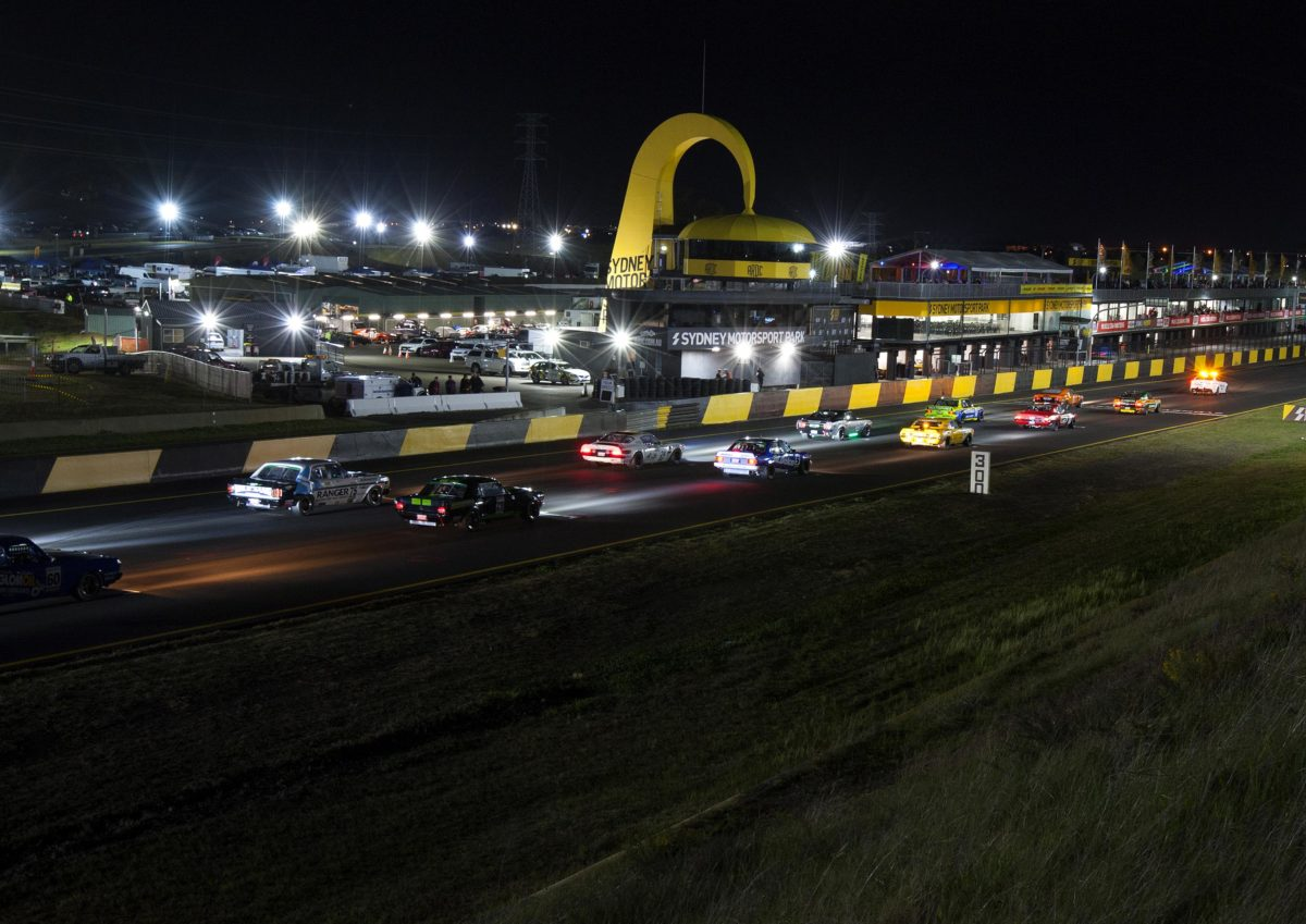 Seton victorious in inaugural TCM night race at SMP - Speedcafe