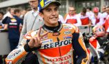 Marquez on pole, Miller front row in slick tyre gamble