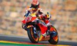 Marquez survives Quartararo threat to take Aragon pole