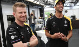 Ricciardo hopes 'low maintenance' Hulkenberg gets new seat
