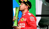 Vettel dislikes 'shitty' Mexican GP trophy