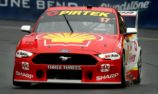 McLaughlin on provisional pole in wet qualifying
