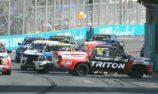 Crick wins amid mayhem in SuperUtes Race 2 at GC