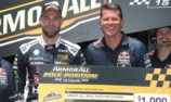 Van Gisbergen beats Whincup to pole in Shootout for Race 27