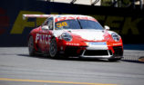 Wall dominates shortened Carrera Cup opener