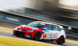 Cameron on record pace in second TCR practice