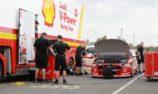 McLaughlin shakes down new Mustang at QR