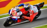 Miller reveals Marquez near miss on way to Valencia front row