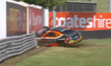 Toyota 86 crash delays Sandown Supercars practice