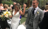 McLaughlin caps off year with California wedding