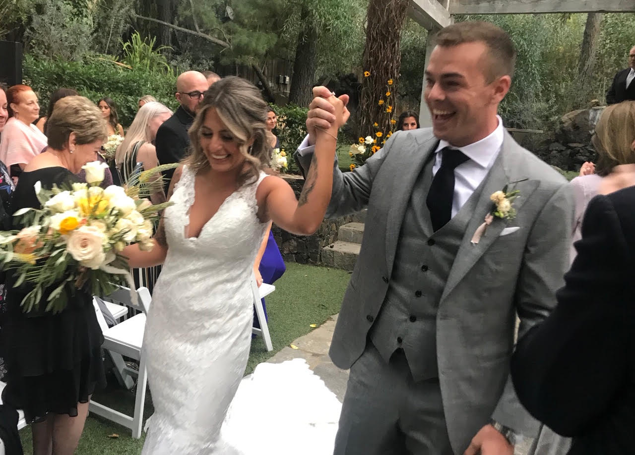 McLaughlin caps off year with California wedding - Speedcafe
