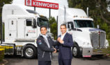 Supercars notches up almost a quarter of a century with Kenworth Trucks