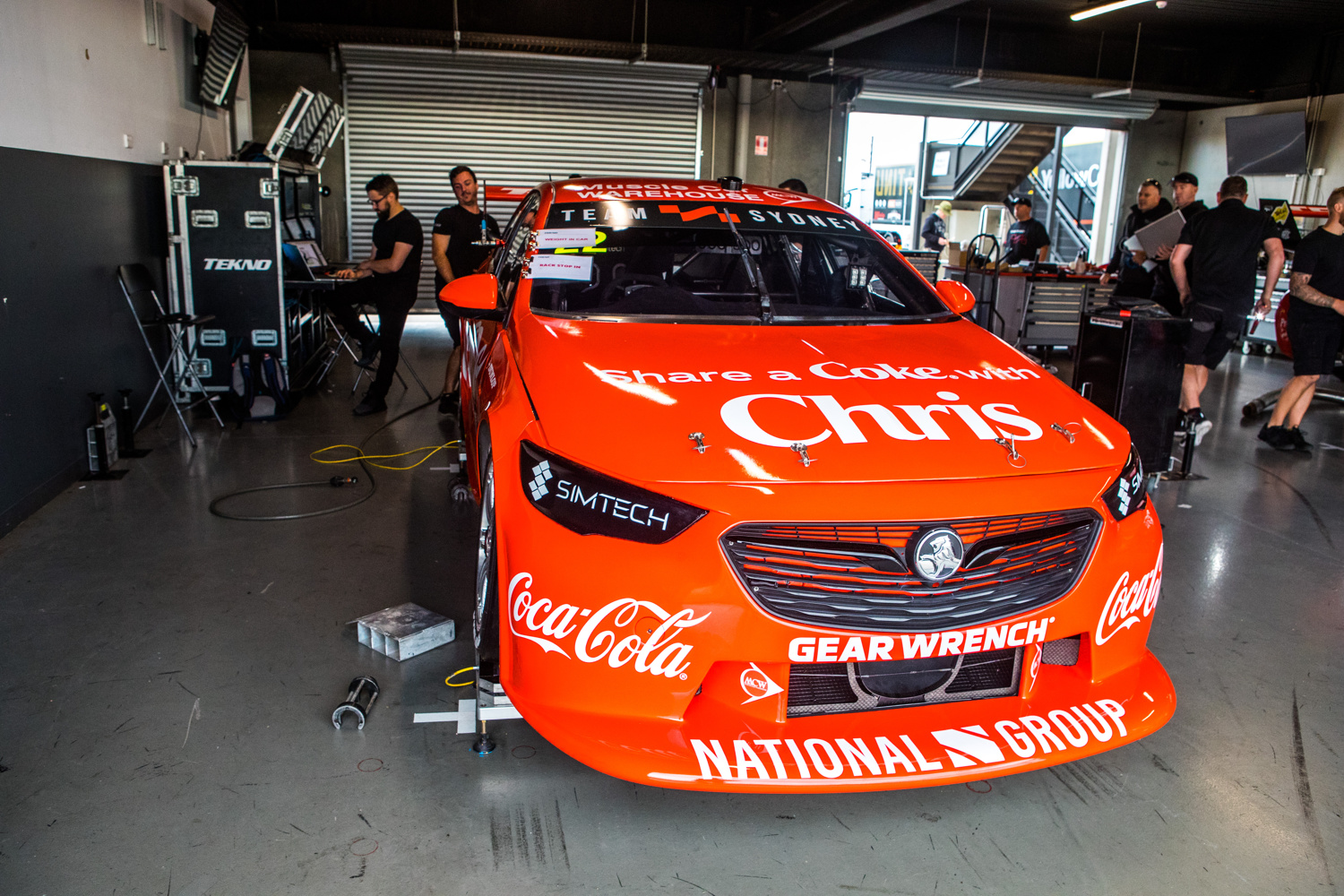 Team Sydney adopts local support for Supercars debut - Speedcafe
