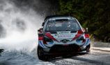 Evans wins Rally Sweden for Toyota