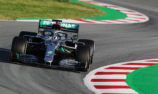 Hamilton tops opening day of F1 testing