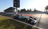 Mercedes tops final day of opening pre-season test