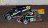 Midgets return to Redline Raceway for 2020 season won by Tevor Perry