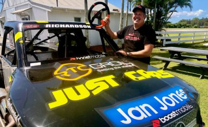 Morris keeps business viable with Super Truck driving lessons