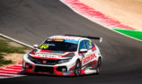 Wall Racing using break to upgrade TCR Hondas