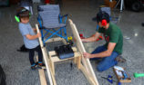 VIDEO: Kelly's barn-built simulator takes shape