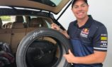 Craig Lowndes' last Supercars tyres up for grabs