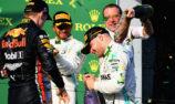 F1 cuts traditional podium celebrations amid 'new norm'