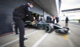 GALLERY: Mercedes tests at Silverstone