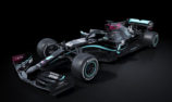 Mercedes adopts black livery as anti-discrimination message