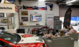 VIDEO: Schwerkolt watches Supercars from his 'man cave'