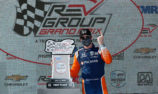 Dixon notches up third win in a row, Power runner-up