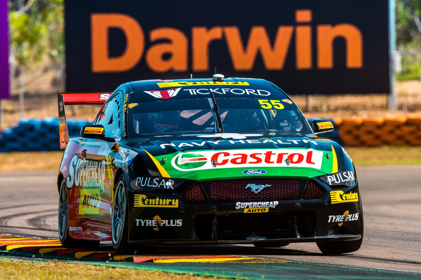 Live Free To Air Supercars Coverage For Darwin Speedcafe