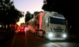 GALLERY: Darwin Supercars transporter parade