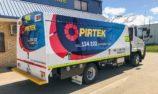 PIRTEK's new 12 tonne GVM trucks