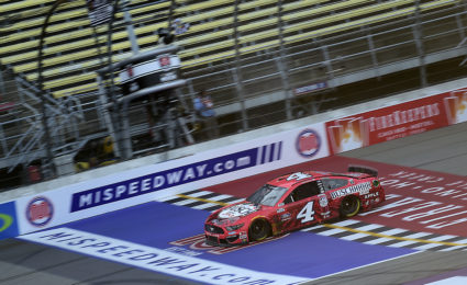 VIDEO: Harvick wins in Overtime at Michigan