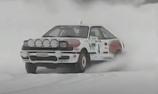 VIDEO: Latvala drives historic Toyota rally car