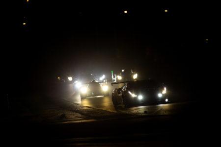 Ferrari - Night time - Headlights - 24h of Le Mans - Circuit de la Sarthe - Le Mans - France -