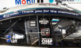 WAU cars carrying Holden thank you at Bathurst
