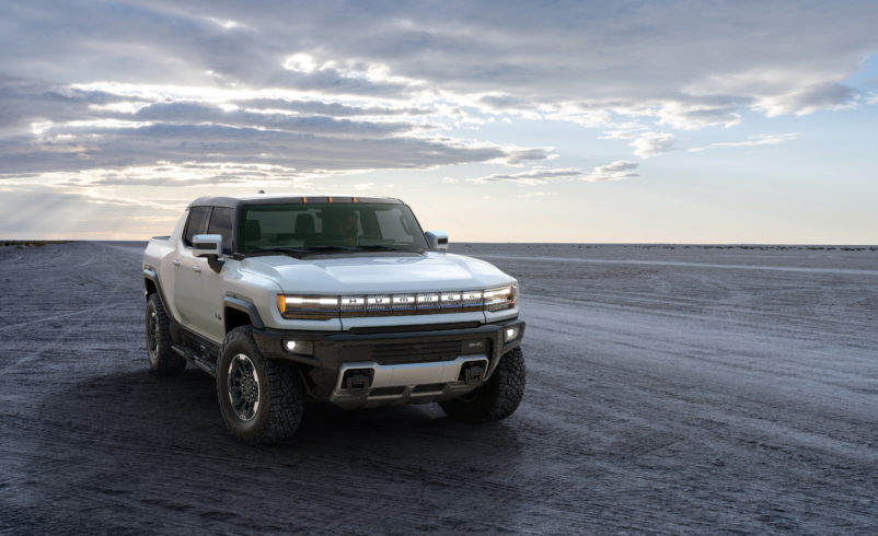 Hummer is back to lead GM's electric charge