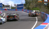 Whincup/Lowndes crash out of Bathurst 1000
