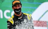 Ricciardo: Eifel GP result 'feels like the first podium'