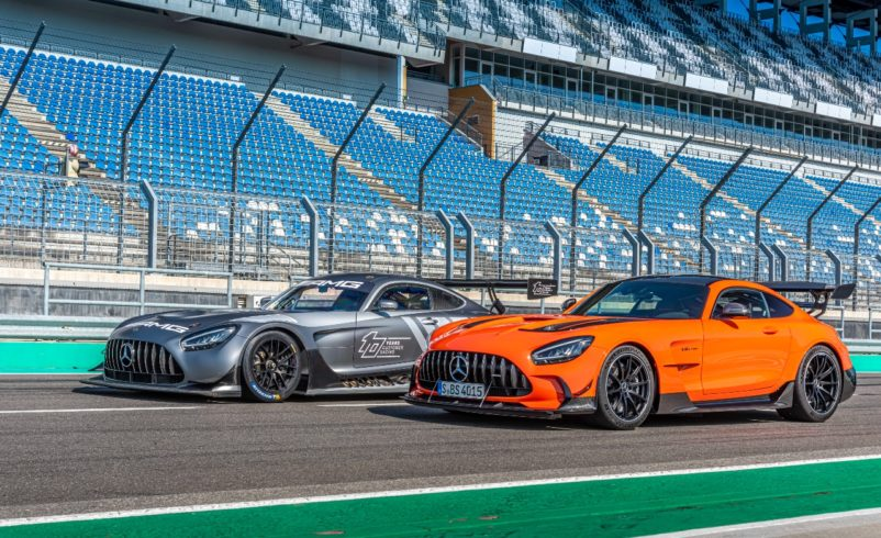 Mercedes-AMG's GT3 car for the road coming down under